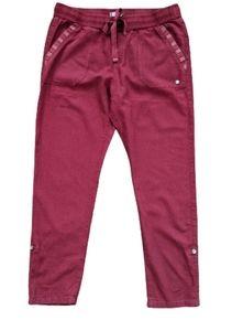 Roxy Linen Blend Drawstring Roll Cuff Pants M